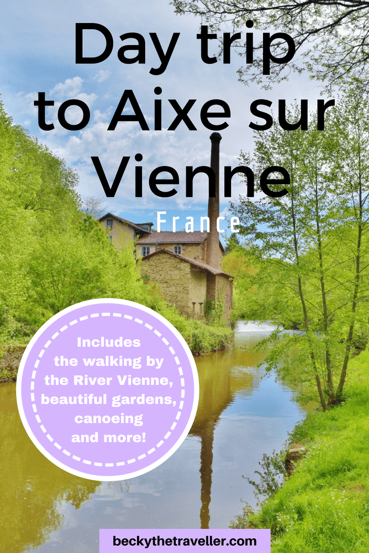 Day trip from Limoges to Aixe sur Vienne in France