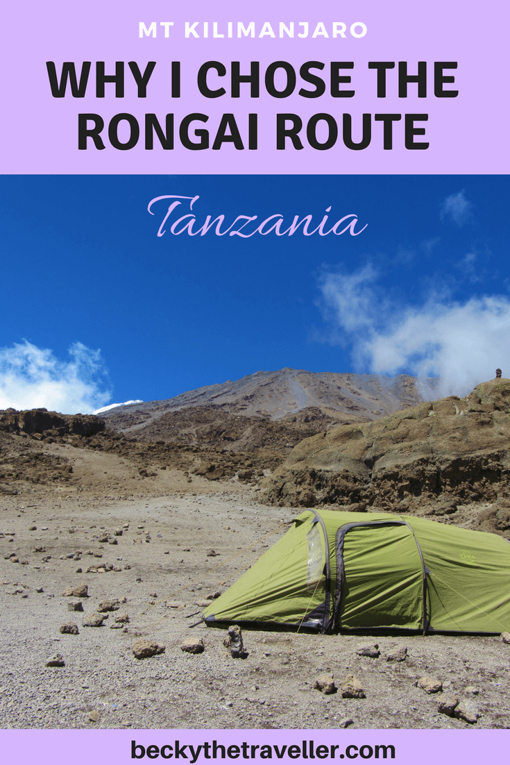 Climb Mt Kilimanjaro via the Rongai Route