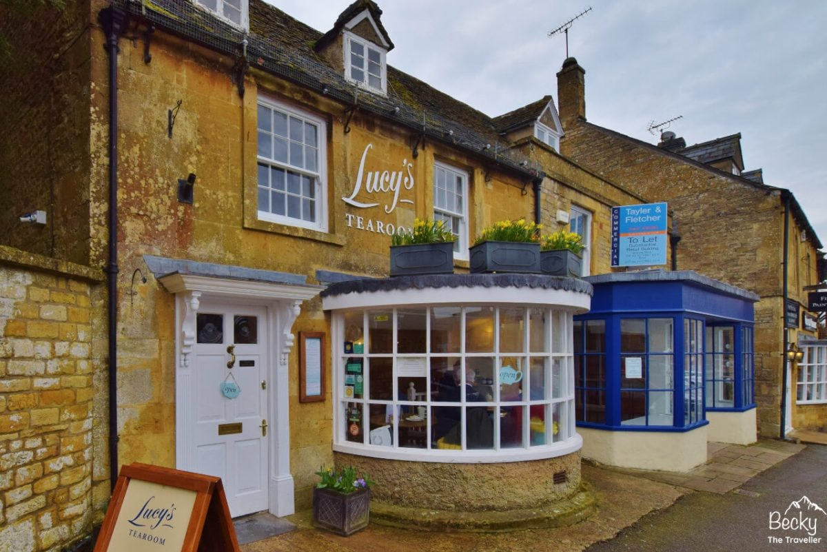 Tea Shop in Stow-on-the-Wold Cotswolds