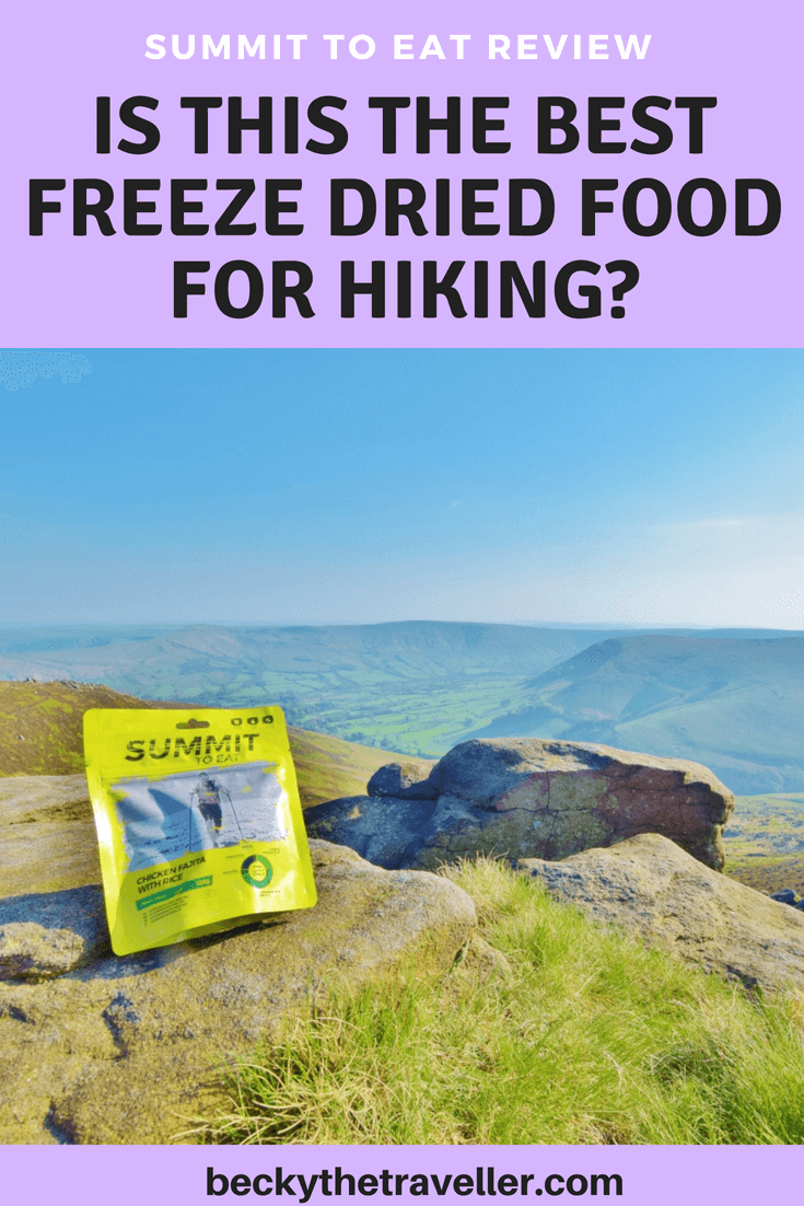 Summit to Eat freeze dried meal review