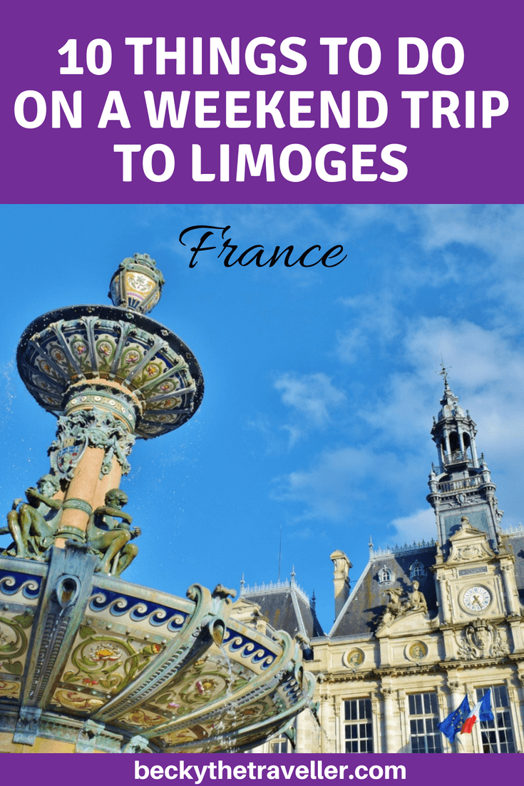 Things to do in and what to see in Limoges, France