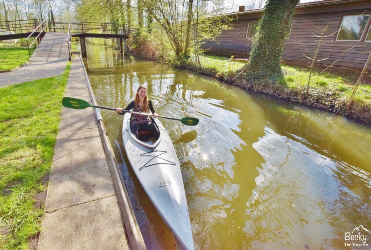 Canoeing in Spreewald