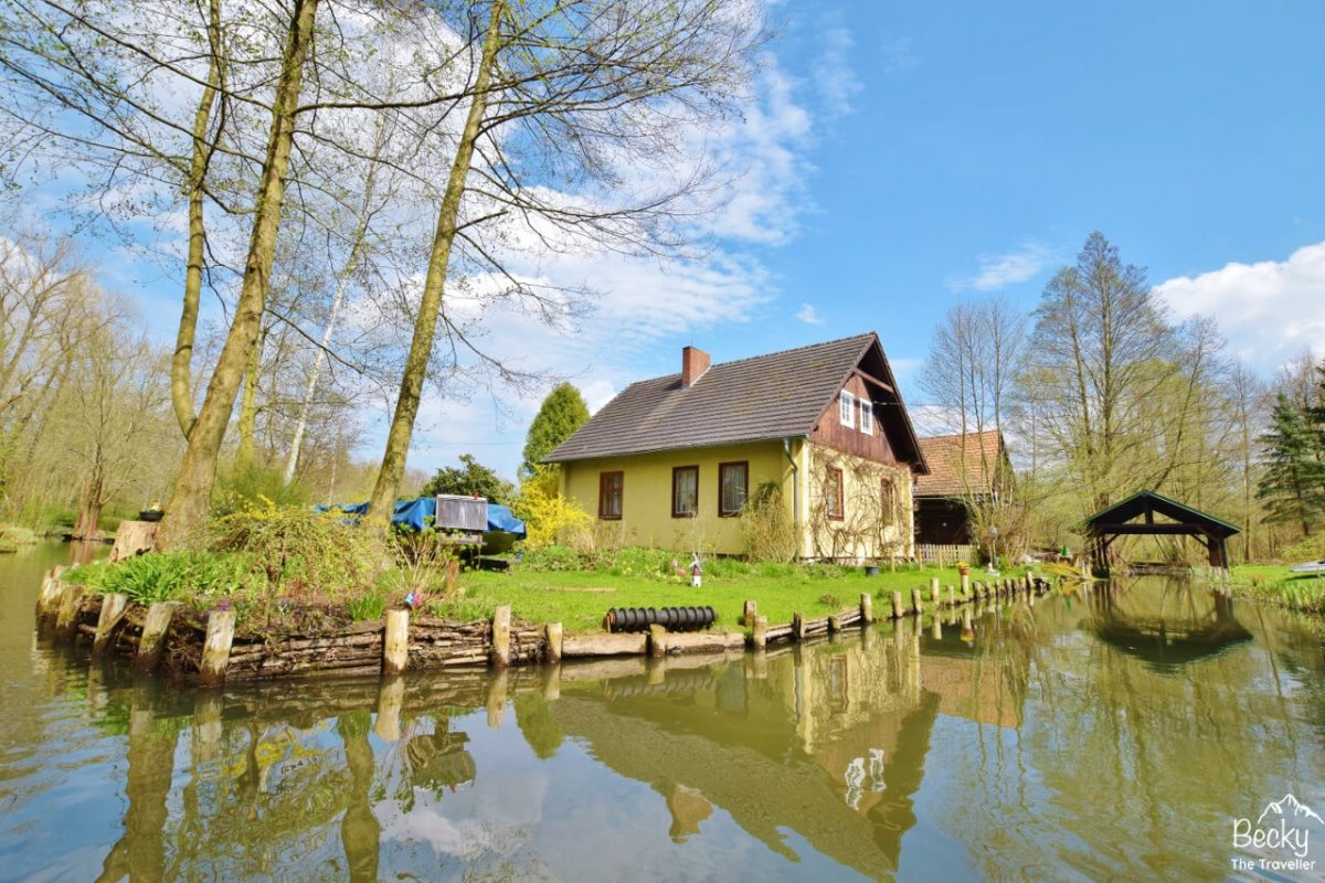 Spreewald waterways