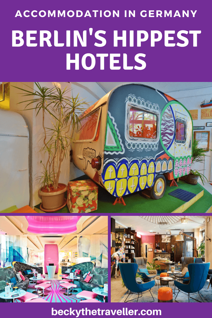 Huttenpalast, NHow, Circus Hotel - Cool and hip hotels in Berlin