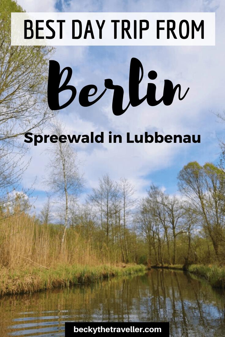 Spreewald Berlin - day trip from Berlin to Spreewald