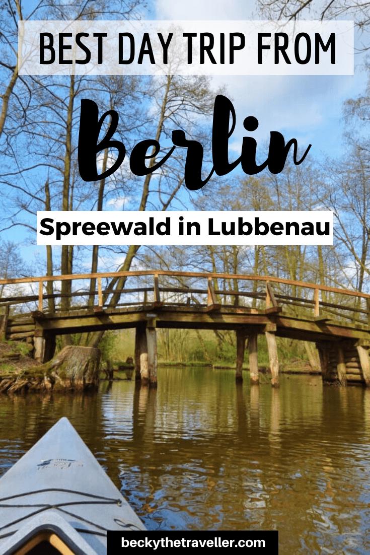 Spreewald Berlin - day trip Spreewald to Berlin