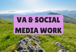 VA, Pinterest & Social Media Work