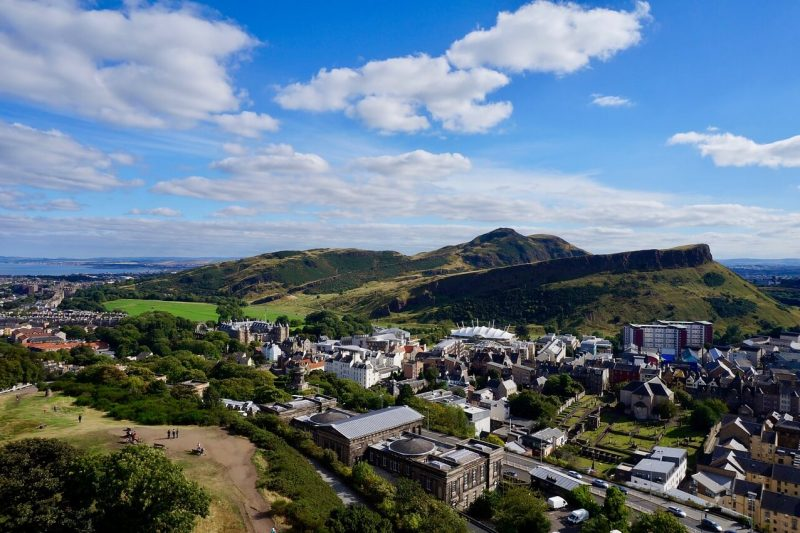 Arthur's Seat walk, Edinburgh, Scotland