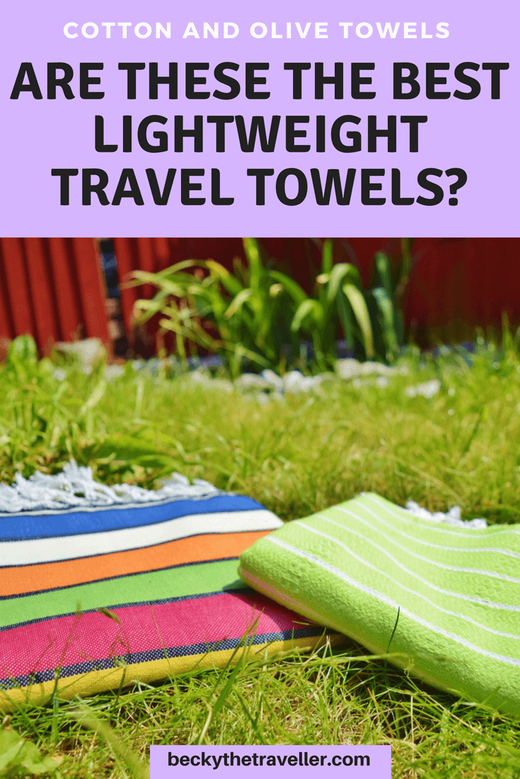 Best quick dry travel towel - Cotton and Olive
