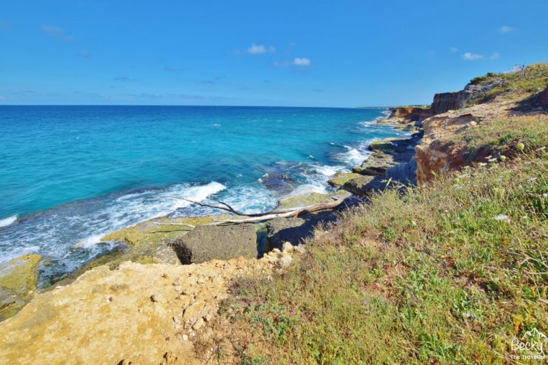 Coastal path north of Otranto