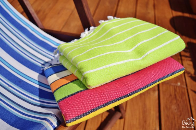 Cotton & Olive towels