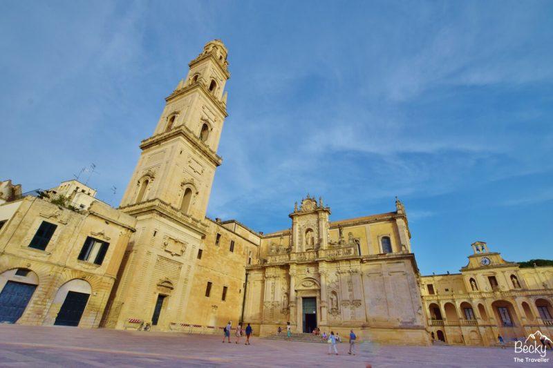 Lecce city, Puglia, Italy