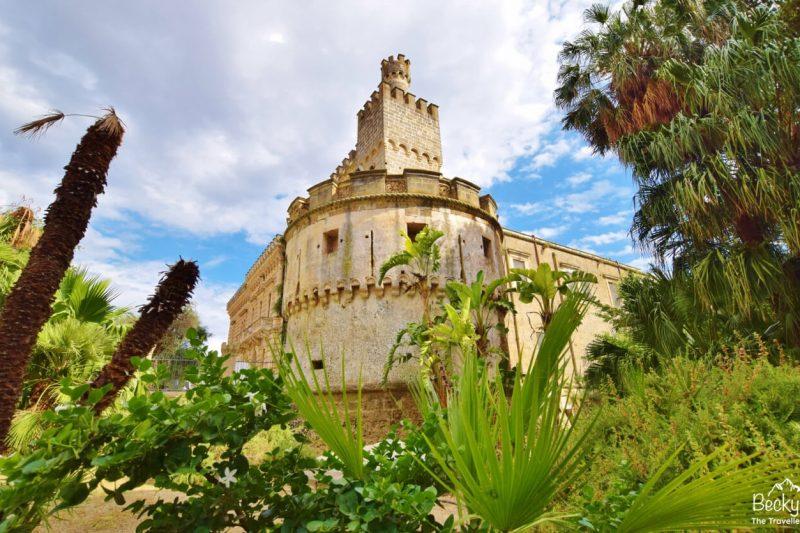 Nardo Castle in Puglia, Italy