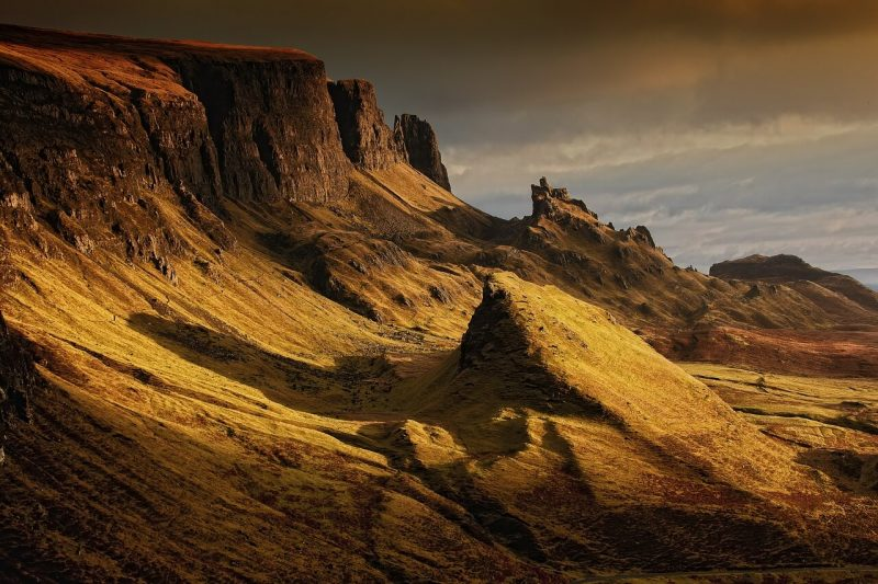 Best day hikes Scotland - Quiraing, Isle of Skye