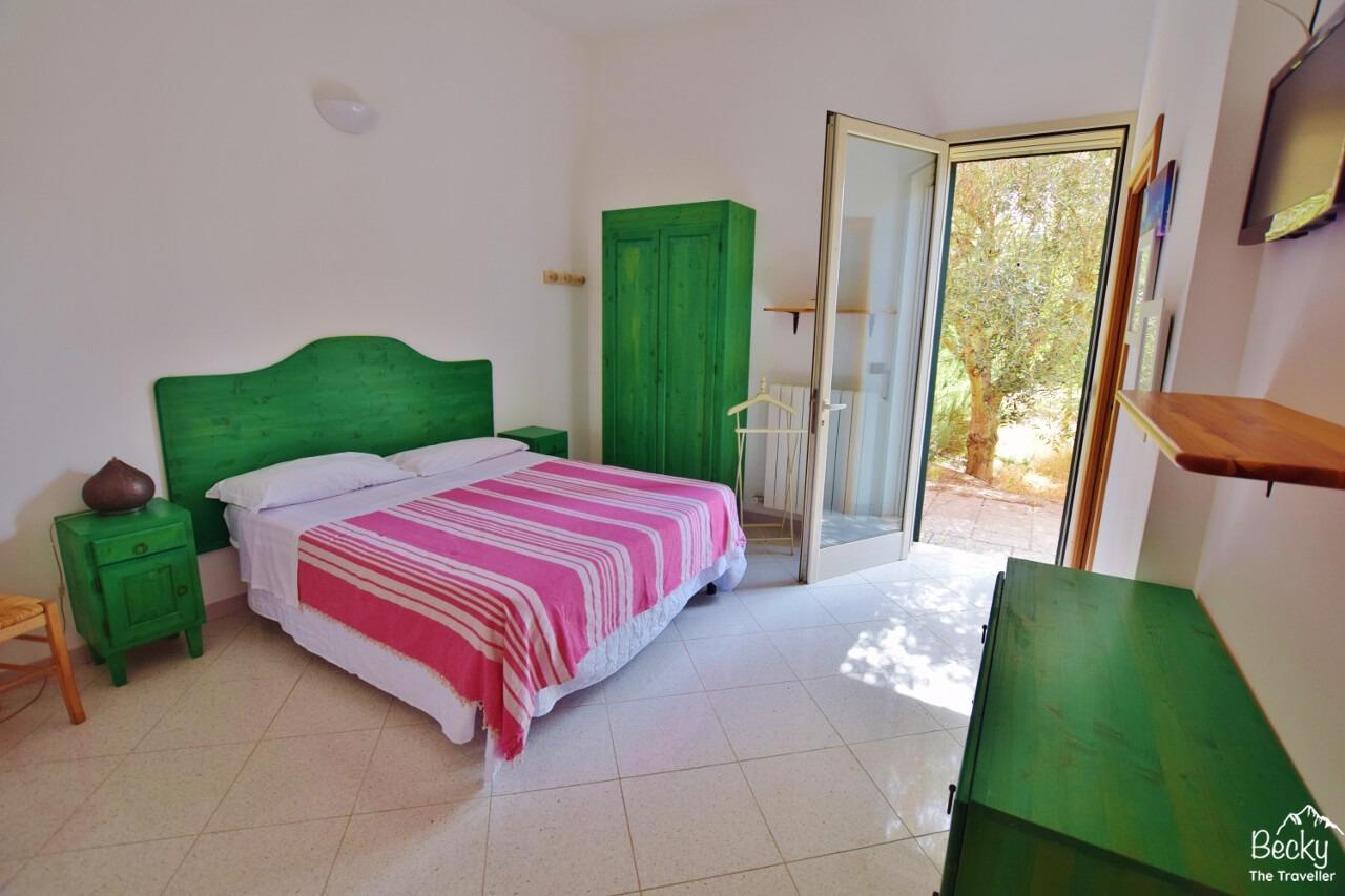 Bedroom at The Aia, Nardo, Italy