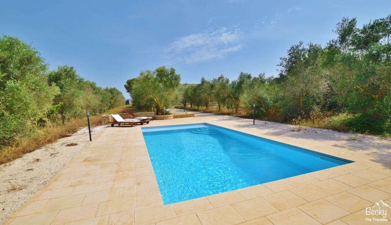 Pool at The Aia, Nardo, Italy