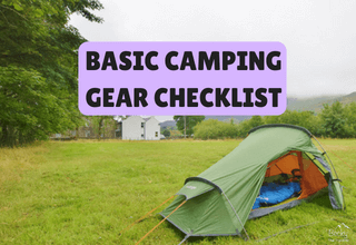 The beginners basic camping gear checklist UK
