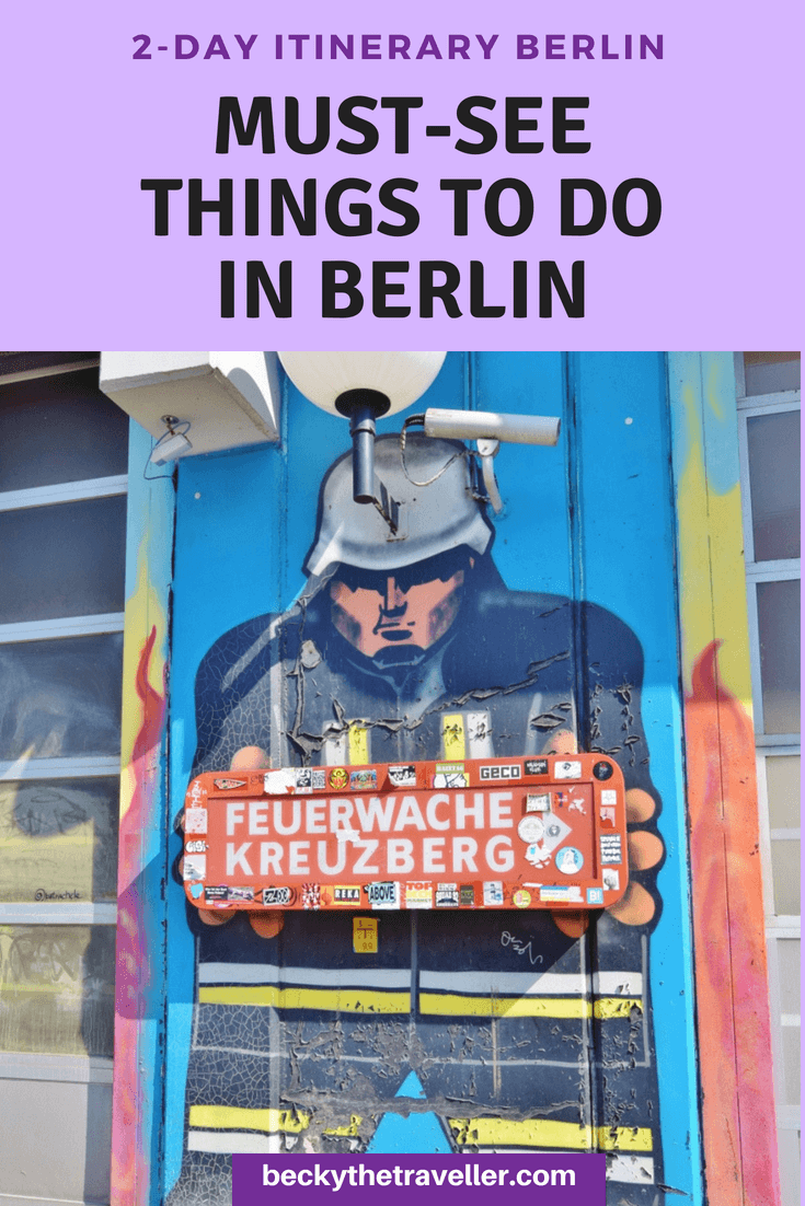 Berlin - 2-day itinerary for Berlin trip