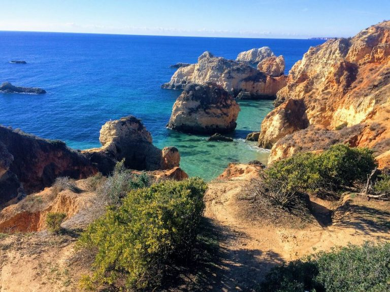 Best hikes in Europe - Algarve Cliffs, Portugal