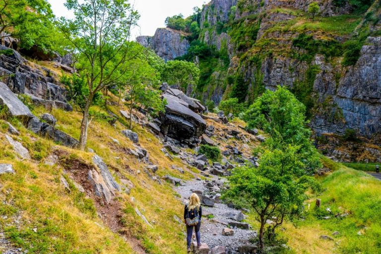 Best places to hike in Europe - Cheddar Gorge, England