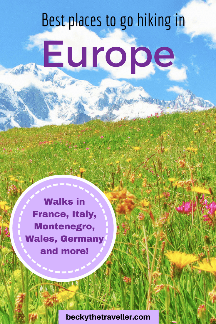 Hiking in Europe - best treks in Europe