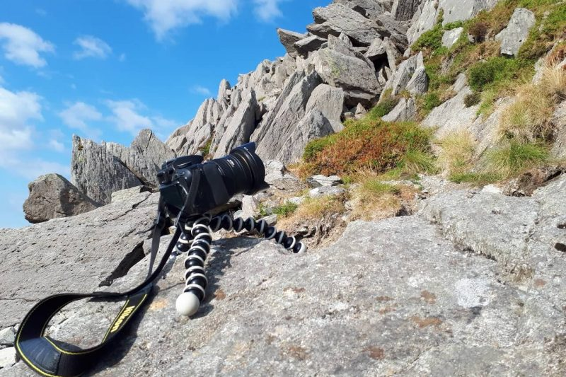 Best tripod for hiking UK - Snowdonia