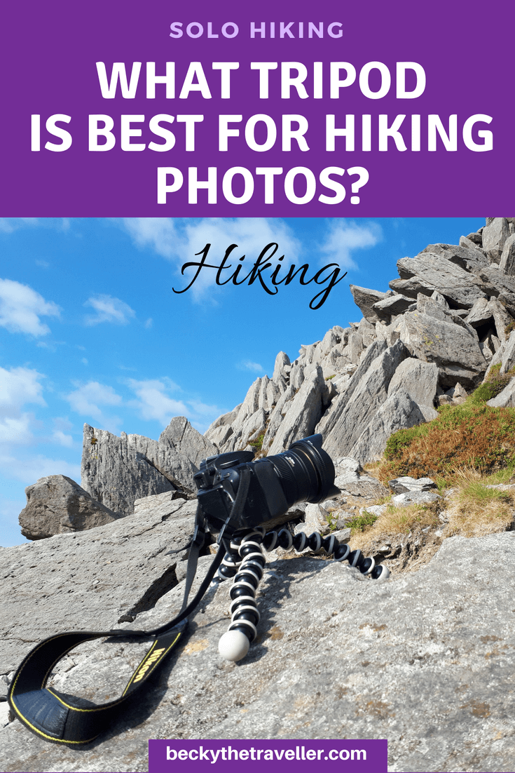 Best tripods for hiking and backpacking