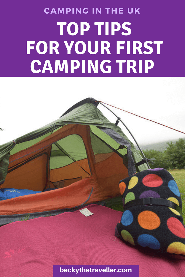 Camping for beginners UK - Basic camping gear checklist