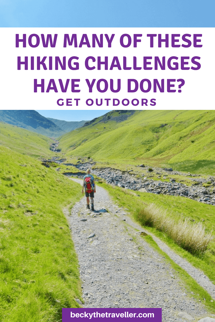 How many of these hiking challenges have you done