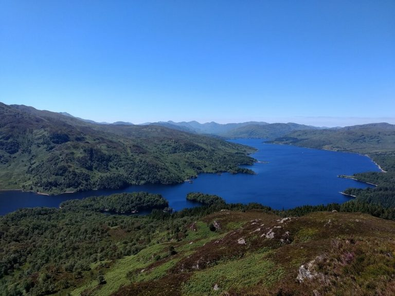 Loch Katrine Ben A'an in Loch Lomond Trossachs - best hikes in Europe-2