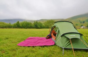 Camping for beginners - Nant Peris campsite Snowdonia