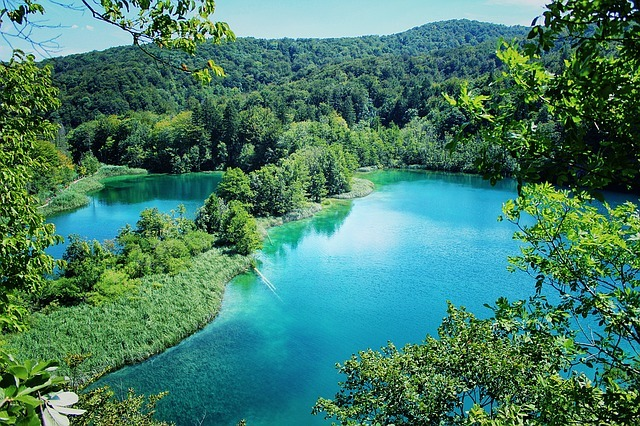 Plitvice Lakes in Croatia - best places to hike in Europe
