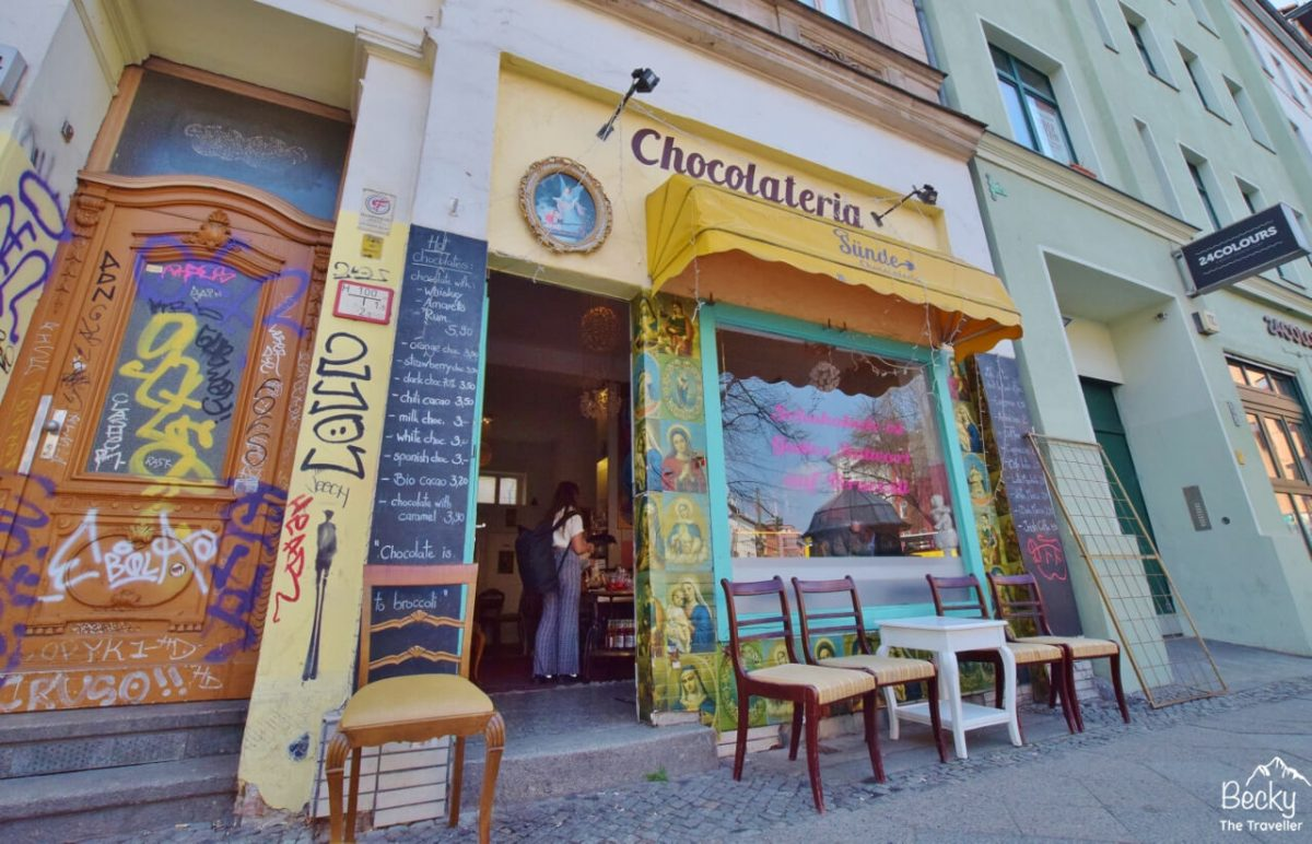Visit the cool cafes in Kreuzberg