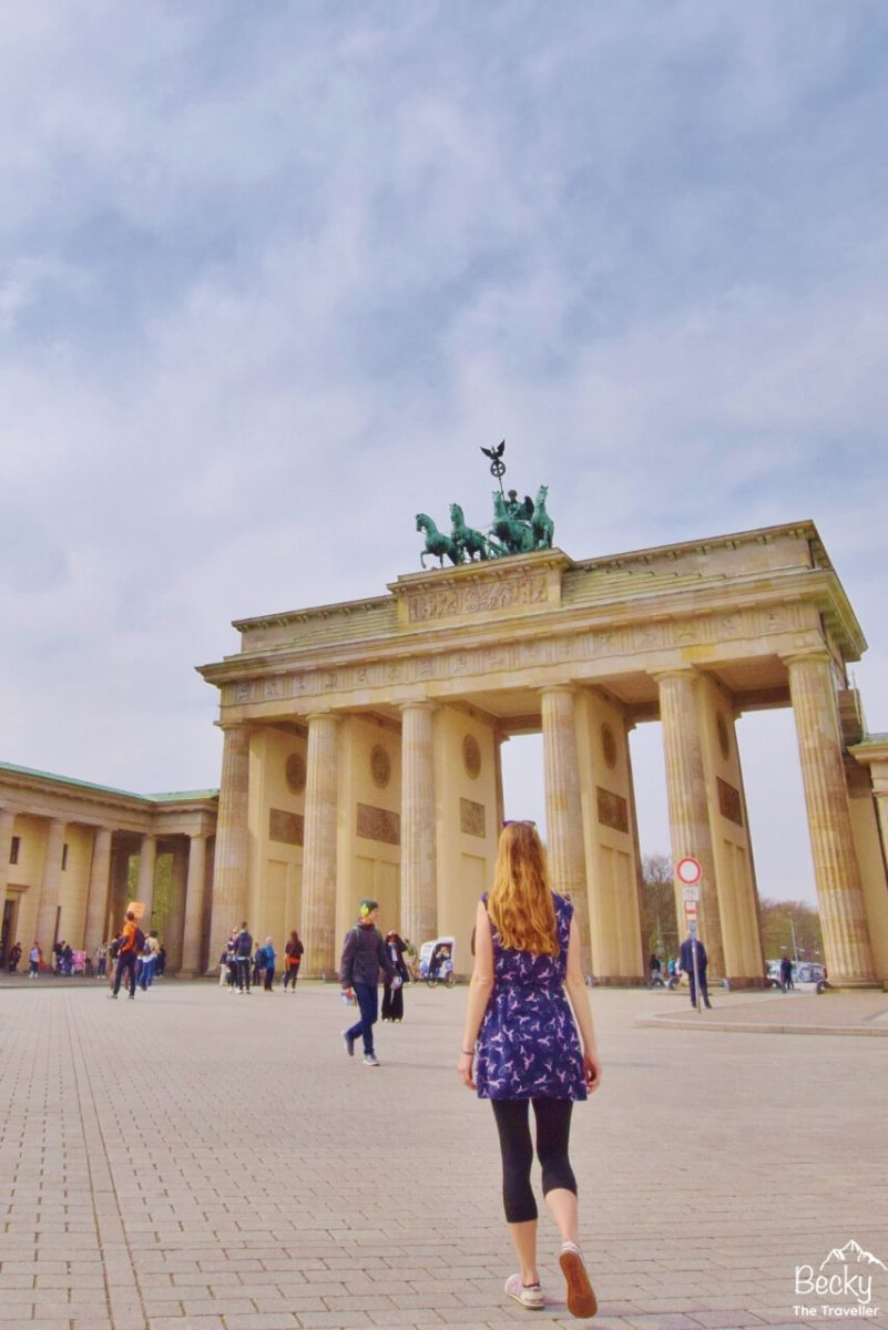 Brandenburg Gate in Berlin - 2 day itinerary
