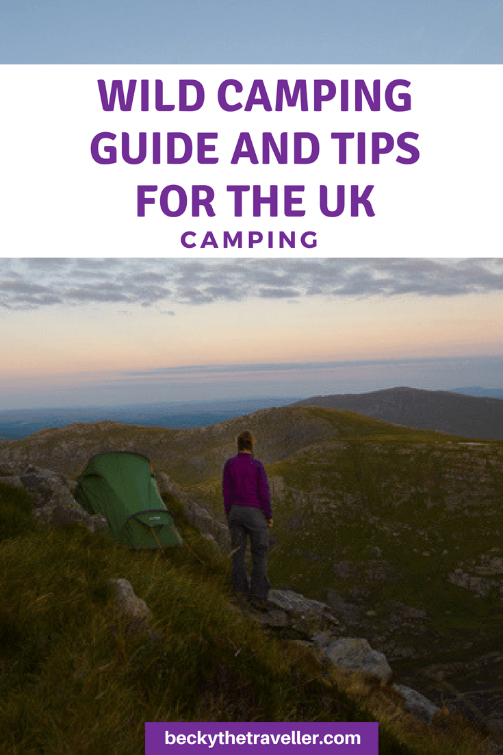Wild camping essentials and guide UK