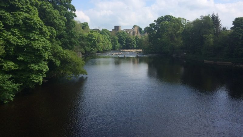 Barnard Castle, Teesdale Way long distance hike UK