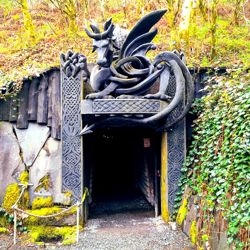 Best places to visit Wales - King Arthurs Labyrinth