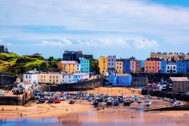 Best places to visit in South Wales - Tenby