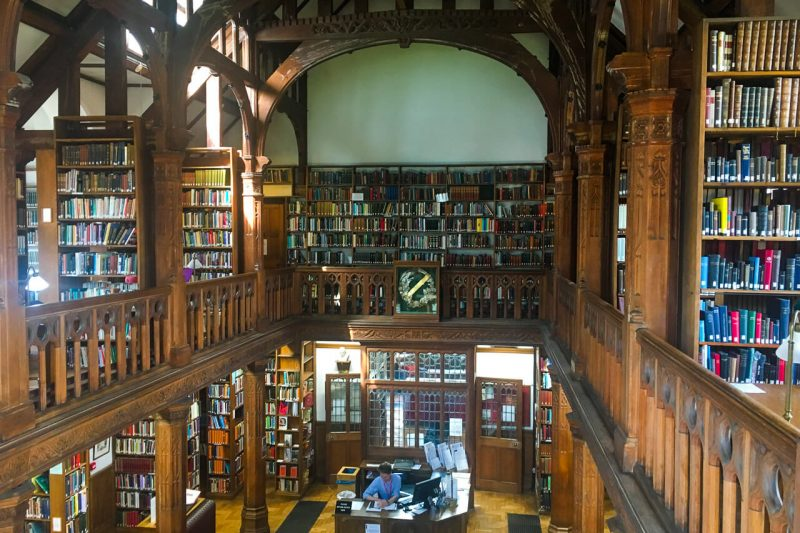 Best places to visit in Wales - Gladstones Library-2