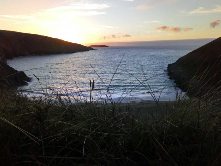 Best places to visit in Wales - Mwnt Beach