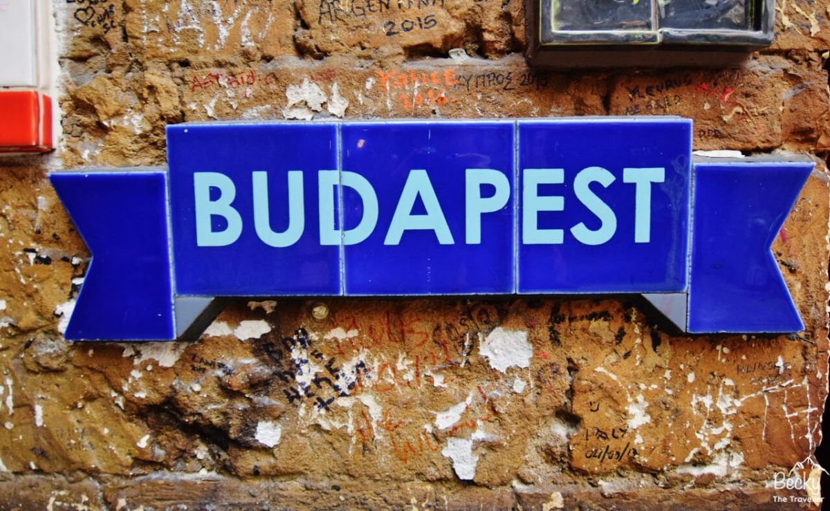 Budapest in Ruins Bar
