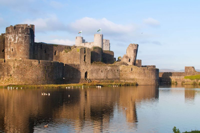 Caerphilly Castle - best places to visit in Wales-2