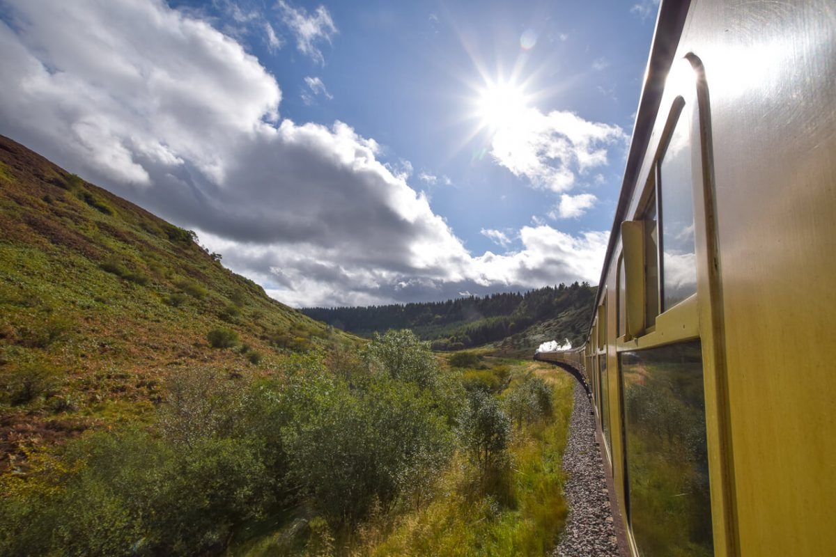 Day trips from York - North Yorkshire Moors Railway
