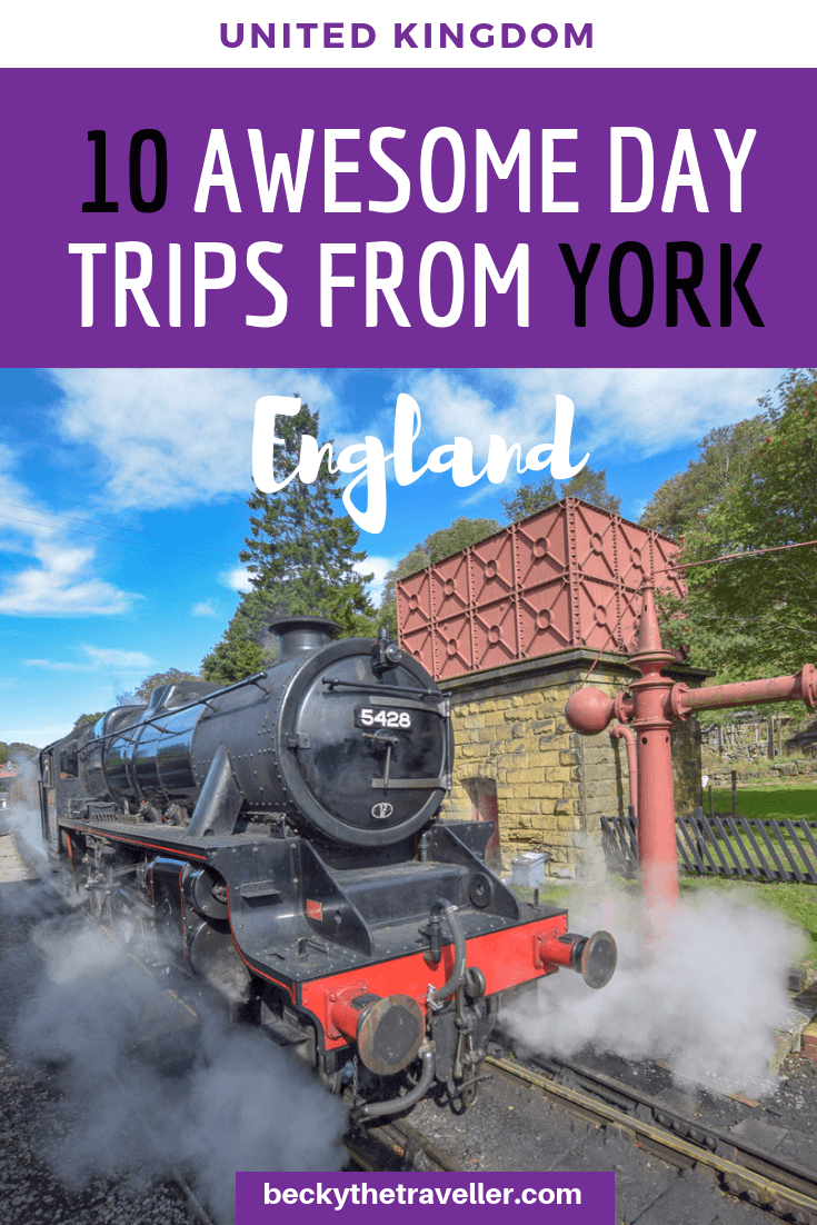 Day trips from York, UK