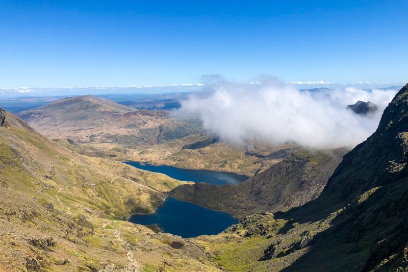 Mt Snowdon - best plaes to visit in north wales