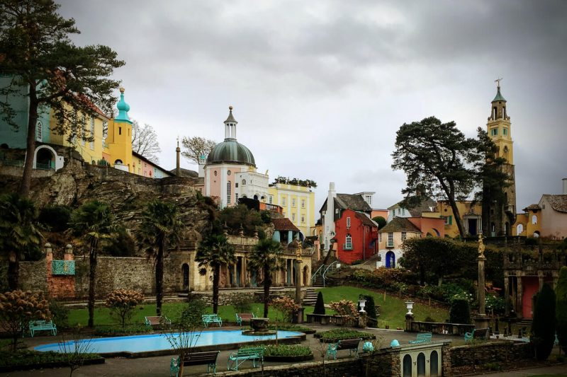 Portmeirion - best places to visit in wales