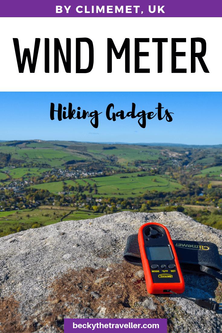ClimeMET Handheld Wind Speed Meter
