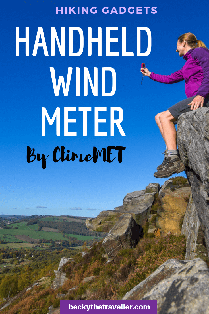 ClimeMET Handheld Wind Speed Meter
