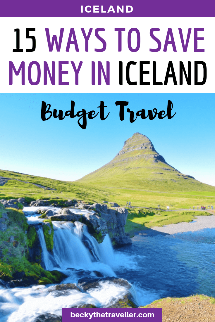 Iceland on a budget - money saving tips