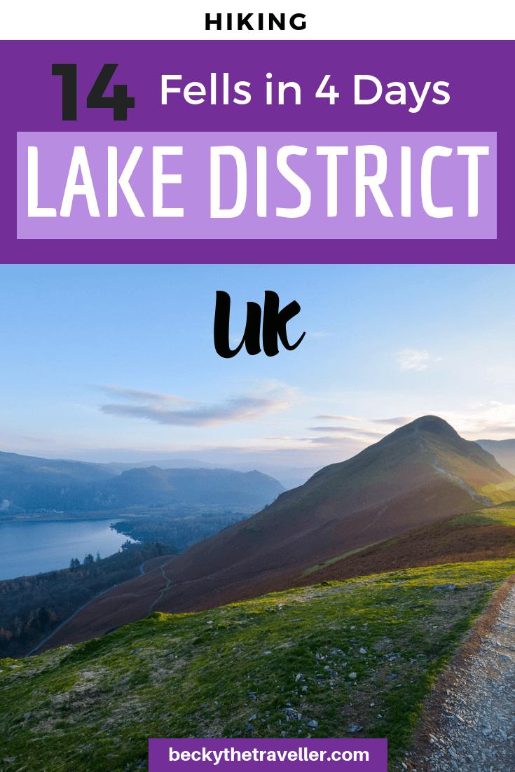 Fell walking in the Lake District - Borrowdale walks 2